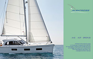 CATALOGUE ALBATROSS YACHTS 2013